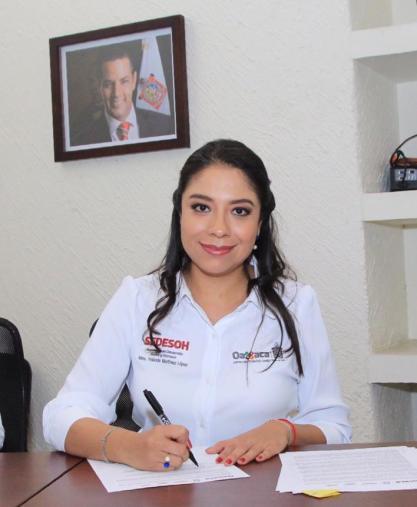 """Firman convenio de colaboración Sedesoh- SMO-BanOaxaca, para operar """"Crédito a la Palabra de la Mujer"""" 2019 (1).jpeg"""