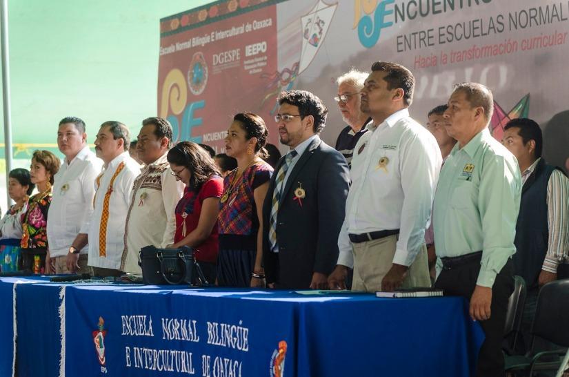 Oaxaca, sede de encuentro de escuelas normales con enfoque intercultural bilingüe (2).jpeg