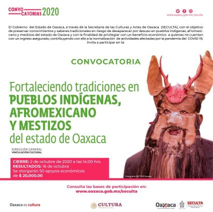 Convocatoria Fortalecimiento pueblos indígenas